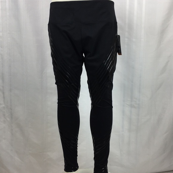 c38cce56d2ef2 MTA Sports Pants | Nwt Mta Sport Fast Dry Black Graphic Leggings ...